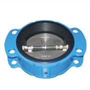 Rubber-coated dual-plate wafer check valve from China (mainland)
