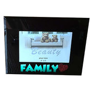 Black collection glass photo frame from China (mainland)