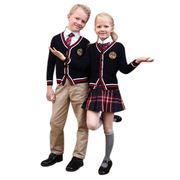 Boy's and girl's school uniforms from China (mainland)