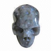 Gemstone carving skull from China (mainland)