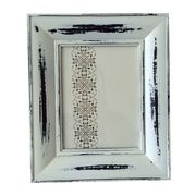 Distressed Wooden Photo Frame, Available in Various Sizes