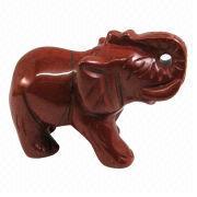 Gemstone Elephant Carving from China (mainland)