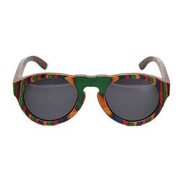 Women's Wood & Bamboo Sunglasses from China (mainland)