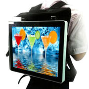 15.6-inch backpack AD player from China (mainland)