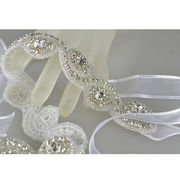 Crystal seed bead headband from China (mainland)