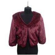 Jacquard fake fur jacket from China (mainland)