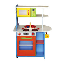 Happy play fun wooden kitchen toy
