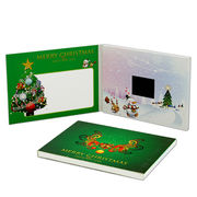 Christmas video cards from China (mainland)