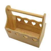 Wooden basket from China (mainland)