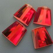 Flat back glass beads from China (mainland)