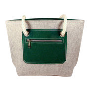 Felt handbags from China (mainland)