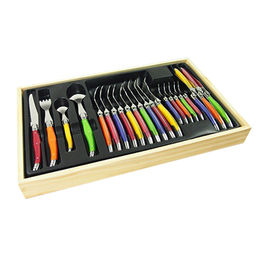 24pcs cutlery use the first level high quality sta from China (mainland)