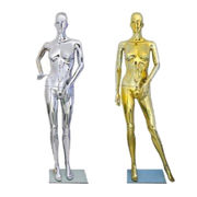Colorful Chrome Female Mannequin from China (mainland)