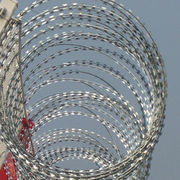 Razor Wire, galvanized and stainless steel
