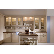 Solid wood kitchen cabinet from China (mainland)