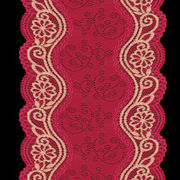 Textronic lace trims from China (mainland)