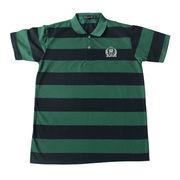 Men yarn dyed golf polo shirt from China (mainland)