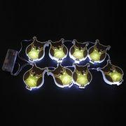8LED PVC Battery Light from China (mainland)