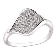 CZ stone silver Ring stamped 925 Sterling Silver J from China (mainland)