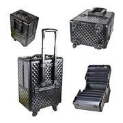 Rolling Professional Aluminum Trolley Beauty Case from China (mainland)