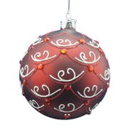 Decorated ball ornament Manufacturer