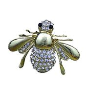 Lovely Honeybee Alloy Metal Brooches from China (mainland)