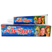 AirSun kids' toothpaste with different fruit flavors, OEM orders are welcome from Yiwu Airsun Commodity Co. Ltd