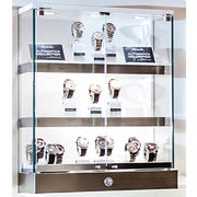 Wholesale Stainless Steel Watch Showcase for Watch Store