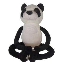 Panda shaped soft plush stuffed toy from China (mainland)
