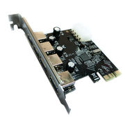 Wholesale 4-port USB3.0 PCI-E Express Card, 4-port USB3.0 PCI-E Express Card Wholesalers