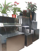 Stainless steel garden fountains from China (mainland)