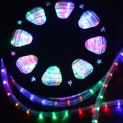 12/24V Steady Round Led Rope Light(2Wires) from China (mainland)