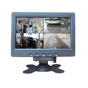 China 7-inch Quad Screen portable security LCD Monitor