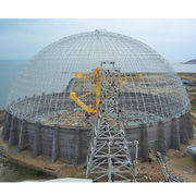 Metal Space Frame Ball Steel Building Construction Manufacturer