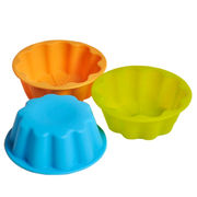Different Shape Silicone Cake/Cookie Mold from China (mainland)