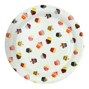 Disposable round paper plates from China (mainland)