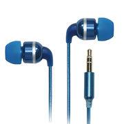 China Aluminum foil cord earphone