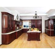 Solid wood kitchen cabinet Manufacturer