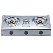 Three burner gas stove from China (mainland)