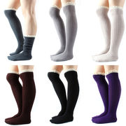 Women's knee-high sock from China (mainland)