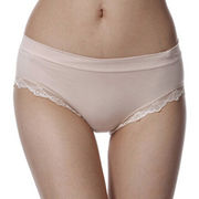 Women's seamless lace panties from China (mainland)