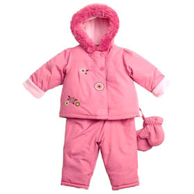 Kids' padded suits from China (mainland)