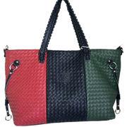 Hand braid leather handbag from China (mainland)