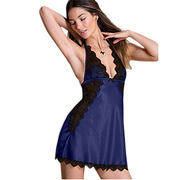 Wholesale Sexy Satin Lace Babydoll, Sexy Satin Lace Babydoll Wholesalers