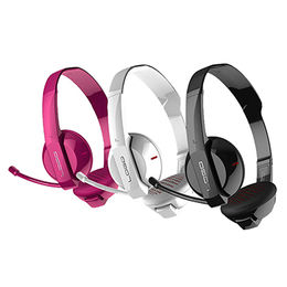 Clear sound over-ear wireless headphone with retractable microphone for iPhone/MP3/MP4/Skype