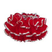X'mas Red Ruffle bloomers from China (mainland)