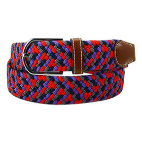 Stylish Multi-color Nylon Elastic Belt from China (mainland)