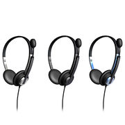 Wired On-ear Computer Headsets from China (mainland)