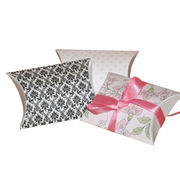 Small printable pillow boxes Manufacturer