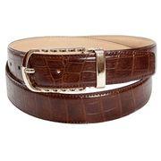 Brown Snake Skin Grain Belt Manufacturer